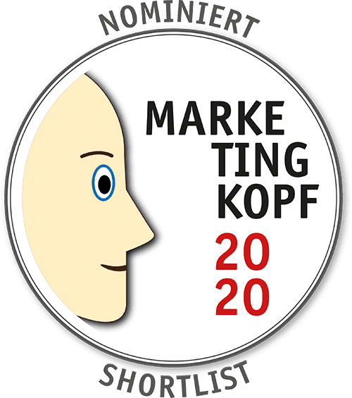 Nominiert zum Marketingkopf 2020